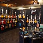 Gibson Custom Shop(ギブソンカスタムショップ)フロア