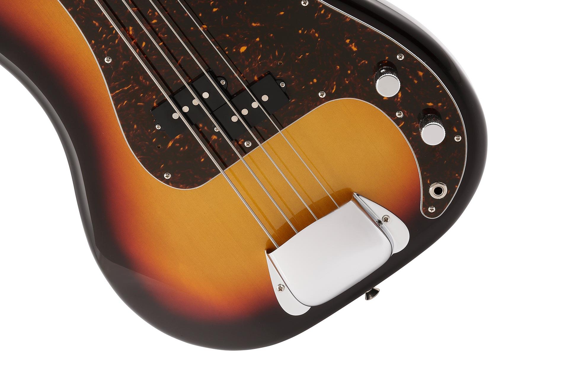 Hama Okamoto Precision Bass ブリッジ周辺