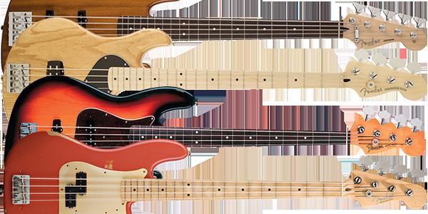 Fender Mexico エレキベースモデル一覧