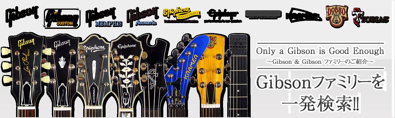 Gibsonファミリーブランドのご紹介