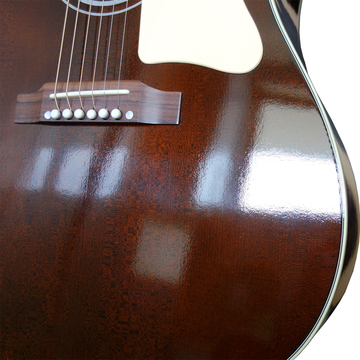 Gibson 1960s J-45 Brown Top Finish Body Top