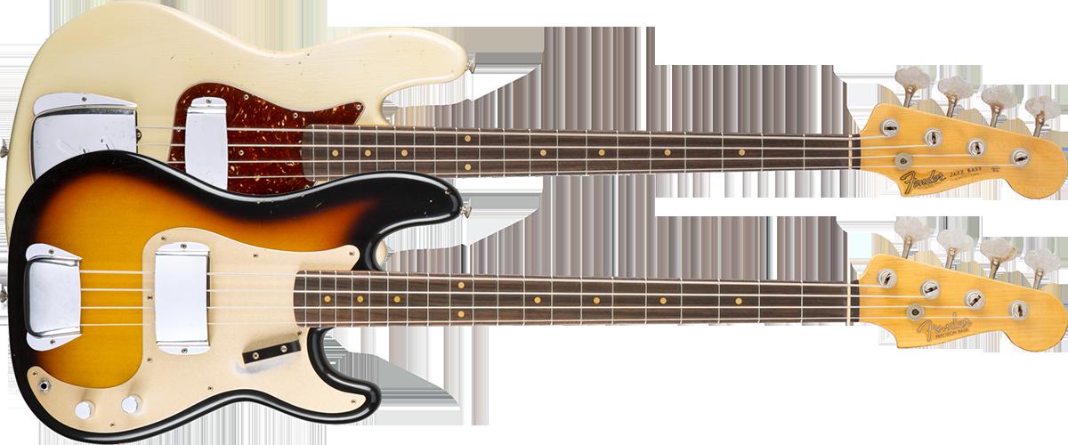 Fender Custom Shopエレキベース一覧