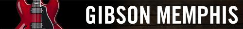 Gibson Memphis 日本語カタログページ