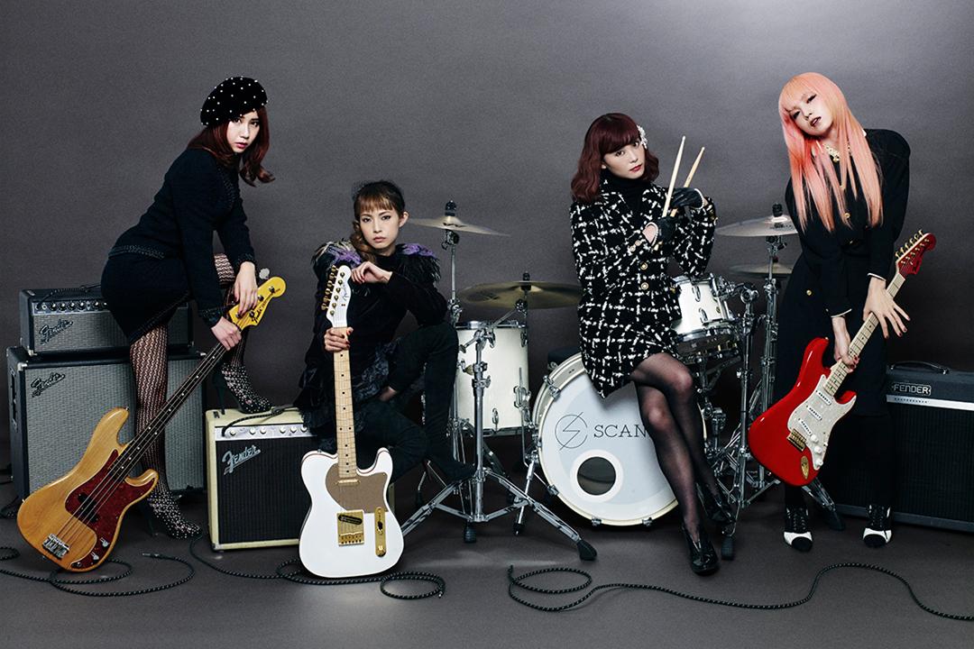 Fender SCANDALシグネイチャーモデルの全体画像