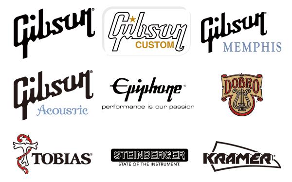 Gibson秋祭り対象ブランドロゴ
