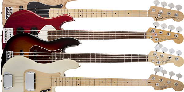 Fender USA エレキベース モデル一覧