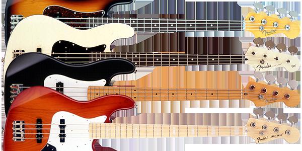 Fender Japan エレキベースモデル一覧