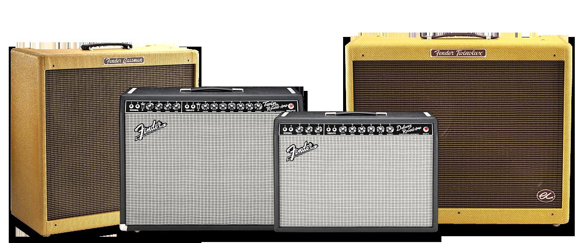 Fender ギターアンプ モデル一覧