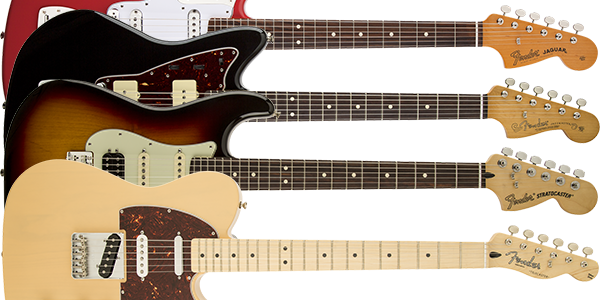 Fender Mexico エレキギター モデル一覧