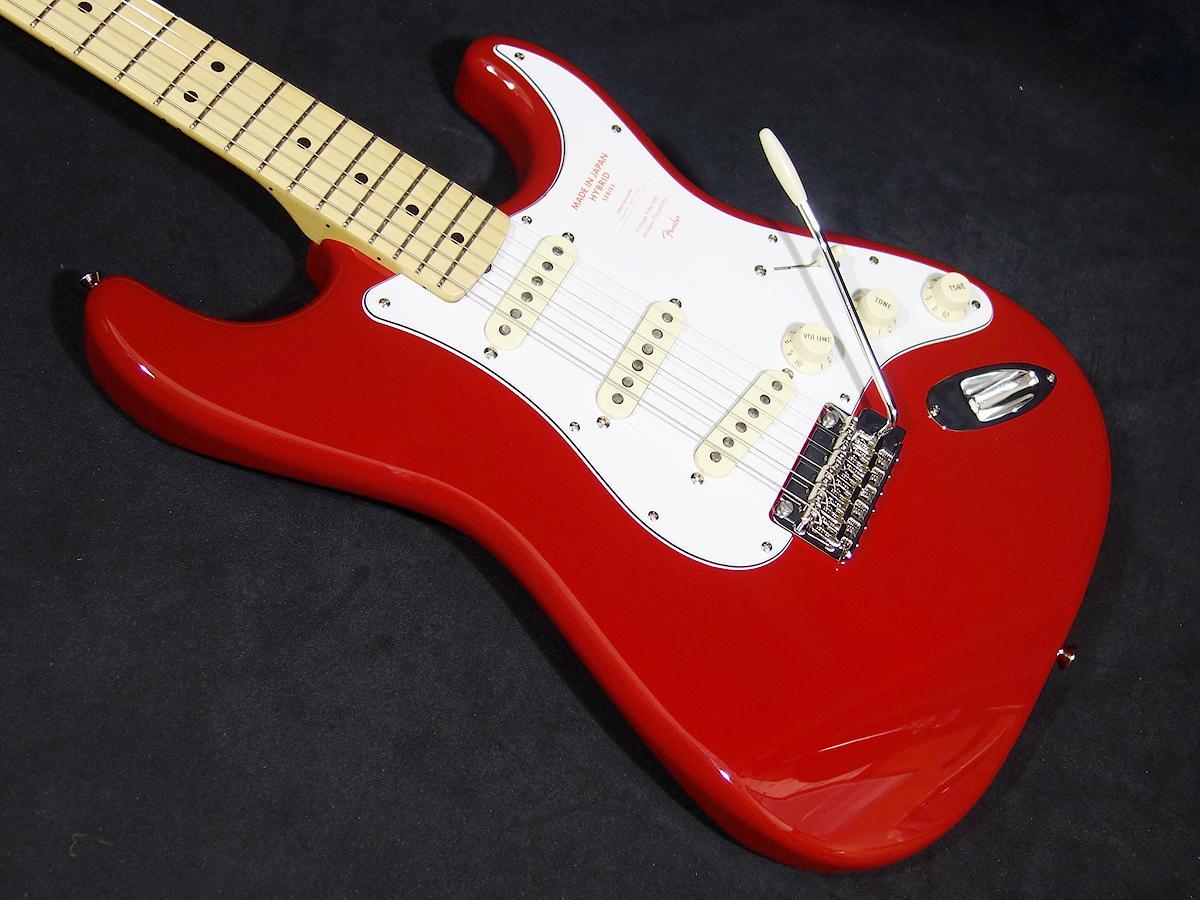 Fender Japan Made in Japan Hybrid 68 Stratocaster Torino Red