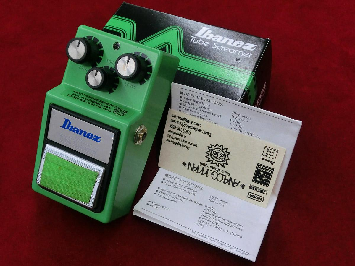 ANALOG MAN Ibanez TS9/808 KWS MOD <アナログマン>|平野楽器